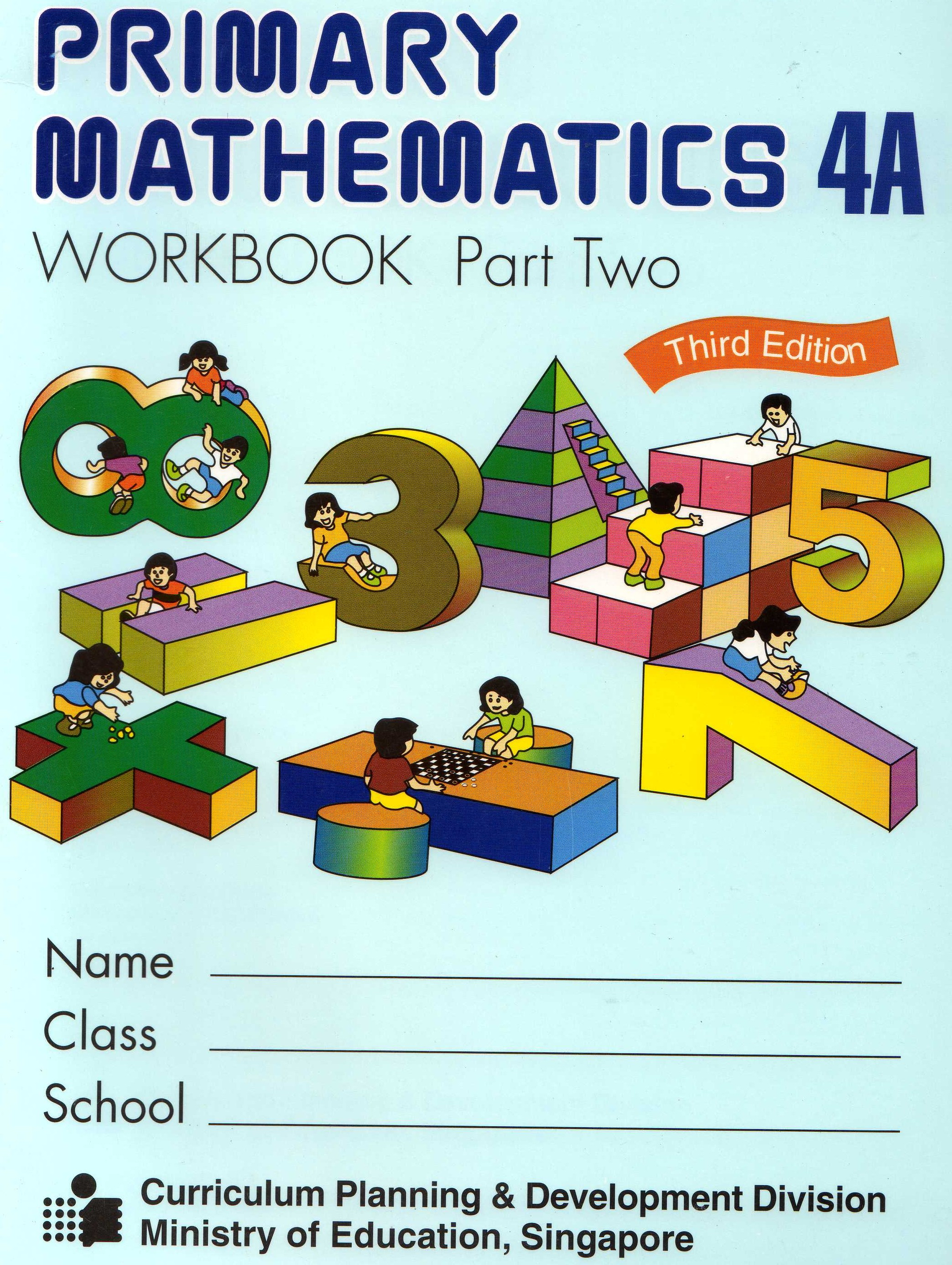Primary Mathematics 4A Textbook U.S. Edition by