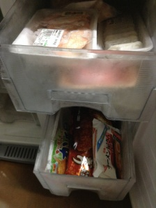 Freezers need cleanouts too. Resealable ziplocks make light work of cleaning