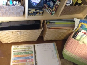 The document carrier, house-management-foler fit into the drawer