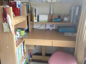 Reorganized desk!