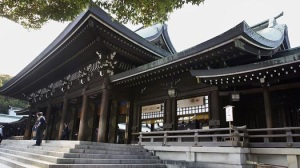 Meiji Jingu Shrine facade