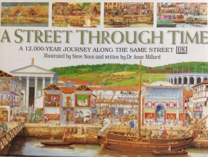 ISBN0-7513-5535 Search for the time traveller through each period, and watch the town change over time with each turn of the page!