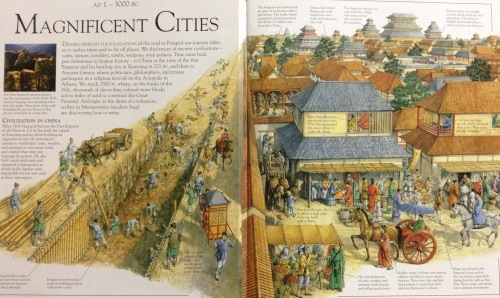 ISBN0-7513-6162-3 see pp.12-15 the spread of Chinese city-building in 221B.C. with that in Japan in the next book.